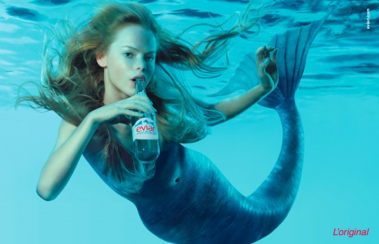 Evian Mermaid
